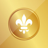 Gold Medaille - Lilie