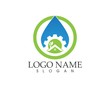 Building home nature service logo design - 197037501