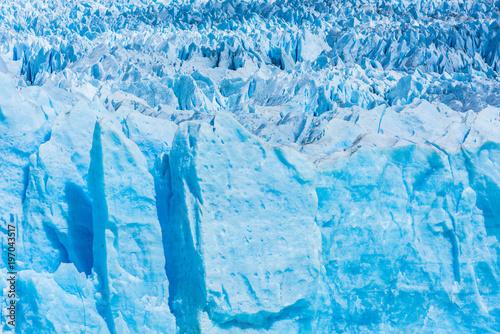 Aluminium Fyle Detail of Perito Moreno Glacier in Argentina