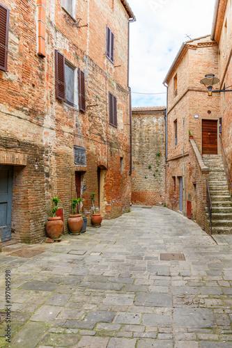 Backyard in an Italian village
