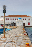 Mykonos. Traditional building of the Greek Church. - 197059107