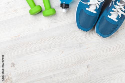Aluminium Fitness Fitness concept background
