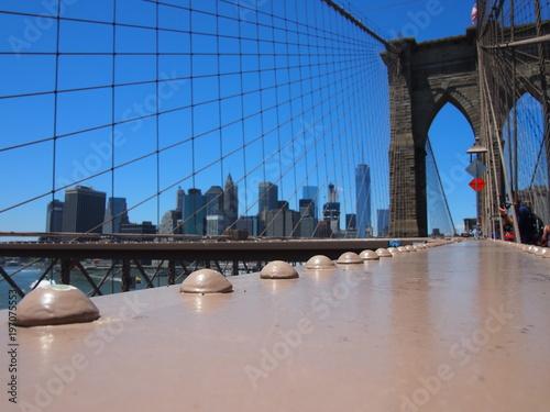 Foto op Plexiglas Brooklyn Bridge ponte di brooklyn, new york