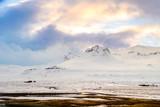 amazing mountain ranger landscape of iceland