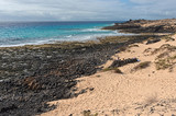 Beach near Corralejo National Park, Fuerteventura, Canary Islands, Spain