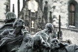 Statue in Old Town Square, Prague, Czech Republic - 197090135