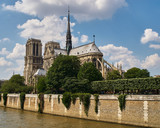 Notre Dame and Seine, Paris, France