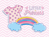 Little princess cute card