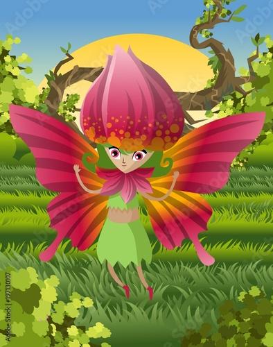 magical rose creature - 197130107