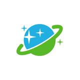 Planet Logo Icon Design