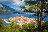 Historic town of Korcula, Dalmatia, Croatia - 197158741