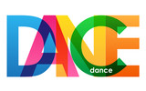 DANCE Colourful Letters Icon - 197209579