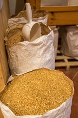 Getreide in Sack