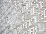 Korean letters on a huge wall for wallpaper