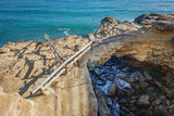 Natural bridge in Roc de Gaieta