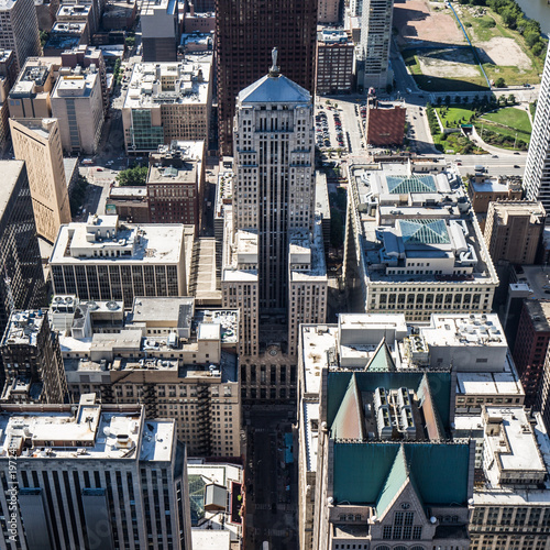 Foto op Plexiglas London Downtown Chicago