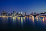 View of Manhattan by night - 197253144