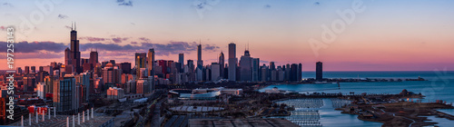 Panorama of Chicago - 197253143