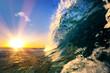 Ocean wave sea tropical background