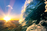 Ocean wave sea tropical background - 197259180