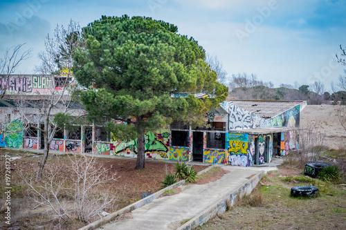 Bâtiments abandonnés Urbex Poster