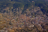 Aerial View of Draguignan Town in Southern Provence, France.