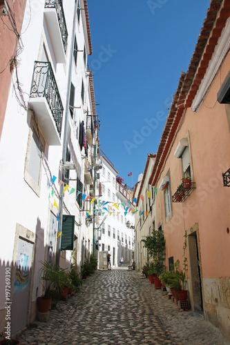 Le quartier de l'Alfama, Lisbonne