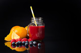 Juice from fresh fruits and vegetables