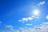 かがやく太陽 青空   - 197277106