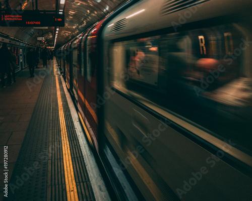 Foto op Canvas London Underground