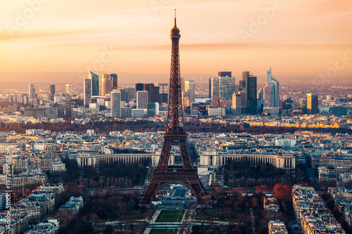 Fotobehang Eiffeltoren Paris Tour Eiffel