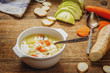 Hmemade vegetables soup - 197298193