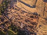 Aerial top view on Ait Ben Haddou - 197300975