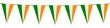Banner. Garlands, pennants. Ireland - 197309118