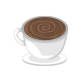 Coffee Cup Cafe Illustration