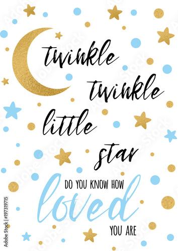 twinkle-twinkle-little-star-tekst-ze-zlotym-oranmentem-i-niebieska-gwiazda-dla-chlopca-baby-shower-szablon-transparentu