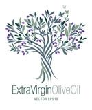Olive Tree. Extra virgin olive oil symbol. Symbol of culture and Mediterranean food. - 197320912