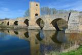 Medieval bridge of Frias, Burgos, Spain