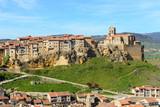 Panoramic view of Frias, medieval village in Burgos, Spain - 197324725