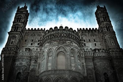 Fotobehang Palermo La Cattedrale di Palermo, Sicilia