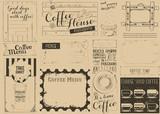 Coffee Menu Craft Placemat - 197386982