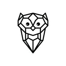 Owl Logo Logotype Theme  Sticker