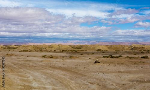 Fotobehang Bleke violet Maroko