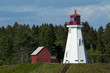 Mulholland Lighthouse on Campobello Island in Canada
