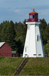 Wooden Lighthouse Tower on Canadian Border