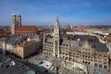 Panorama view of Munich, Germany - 197414531