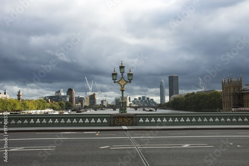 Foto op Plexiglas London London, England. View from Westminster Bridge.