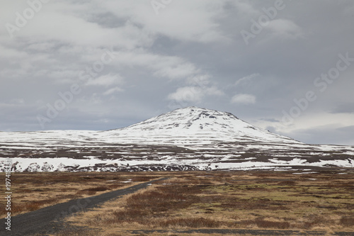 Fotobehang Donkergrijs Thingvellir Nationalpark, Island