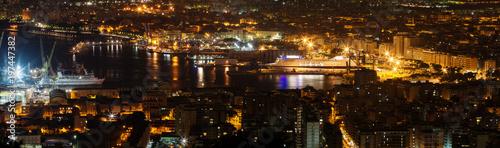 Fotobehang Palermo Palermo Harbor (hi-res panorama)