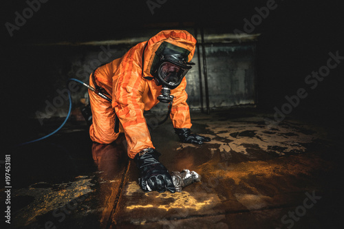 Foto Murales Tankreinigung